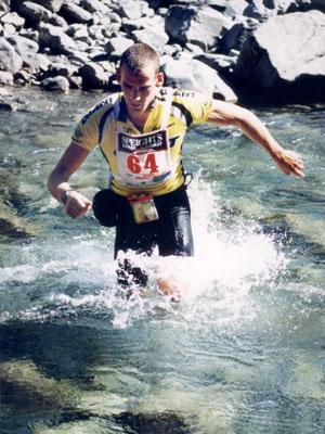 Running inwater